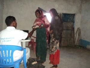 Sanitation Campaign, Drug and Cash Distribution Project of Elberde